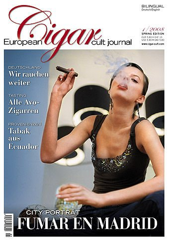 European Cigar Journal Ausgabe  01/2008