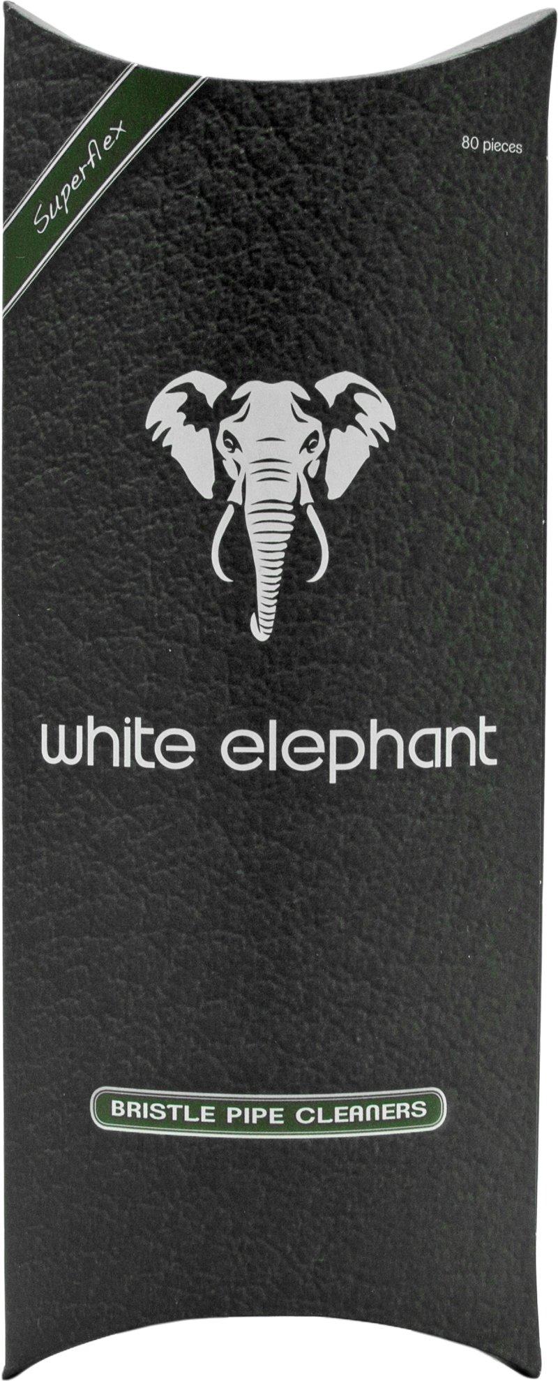 White Elephant Pfeifenreiniger Bristle 20 Stück 20