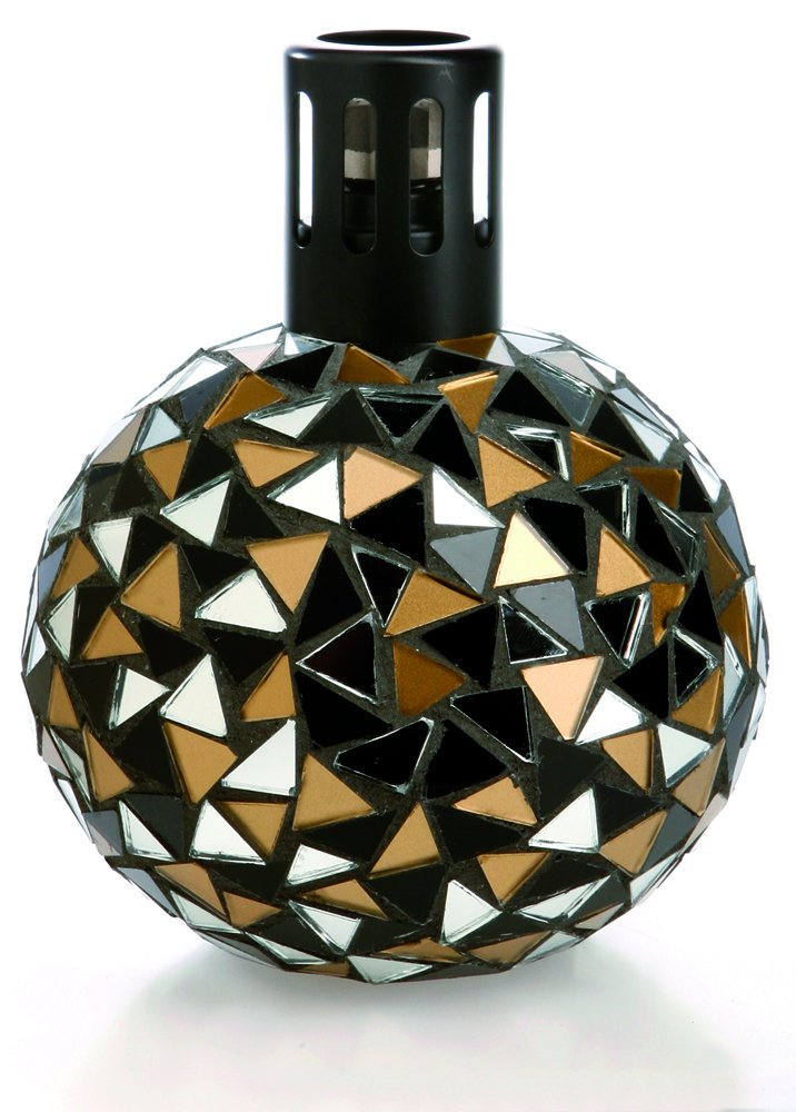 Millefiori Lampair Mosaic Black Gold