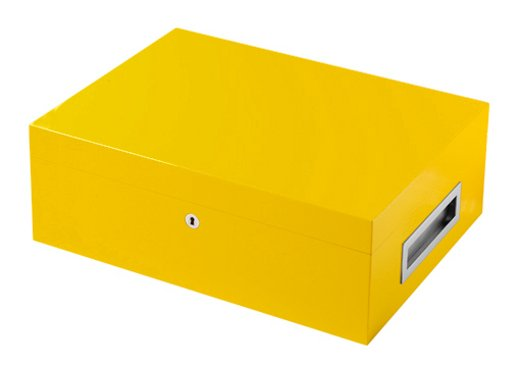 Villa Spa Humidor Yellow
