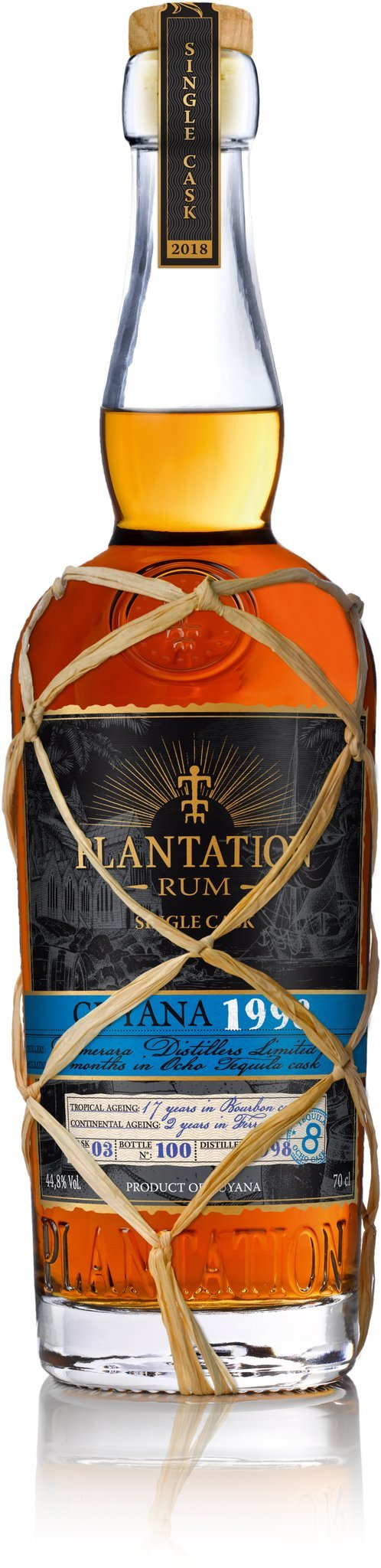 Plantation Rum Guyana 1998 (0,7 l / 44,8 % vol.)