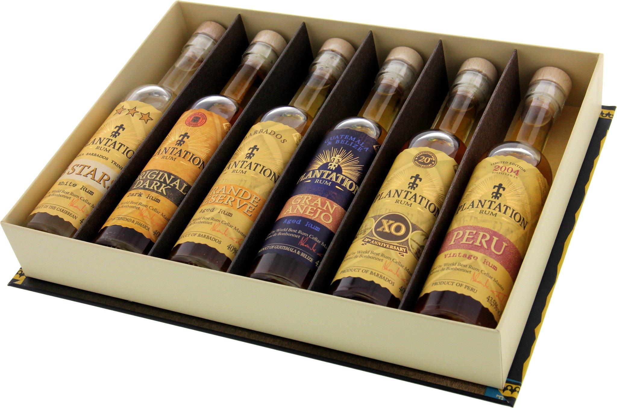 Plantation Rum Experience Artisanal Rum 6er Set ...