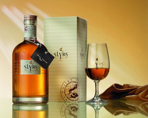 Slyrs Bavarian Single Malt Whisky  Whisky (2008er Jahrgang) 0,7l