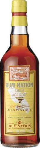 Rum Nation Martinique 12 Years 0,7 Liter