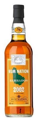 Rum Nation Barbados 2002 (8 Jahre) 0,7 Liter
