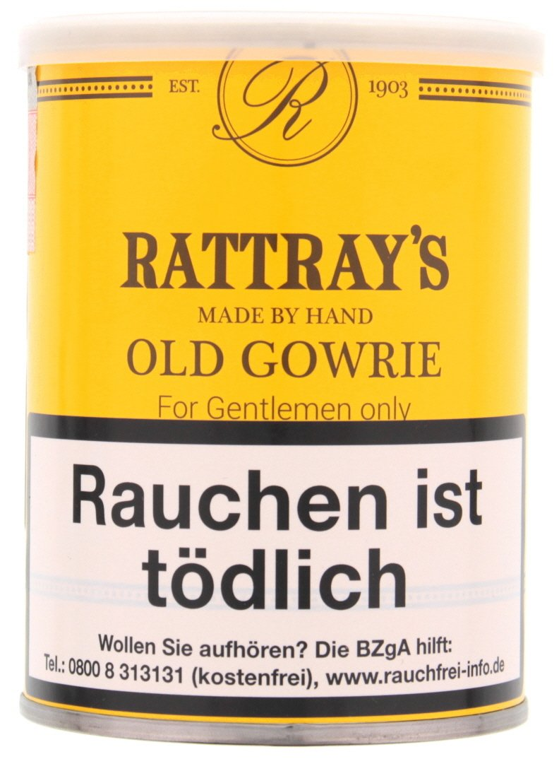 Rattray's British Line Pfeifentabak Old Gowrie 100g Dose