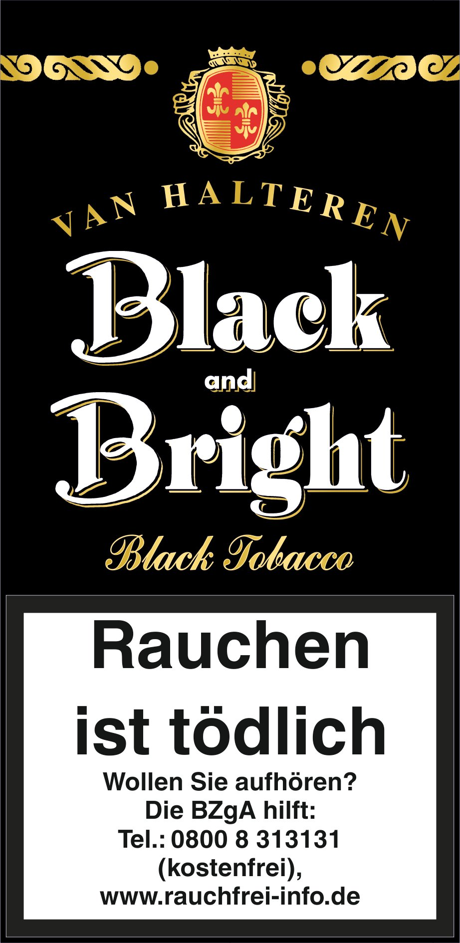 Van Halteren Black and Bright 50g Pouch