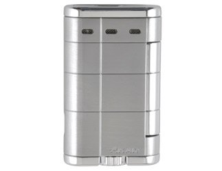 Xikar XTX Double Flame Lighters Silver 532