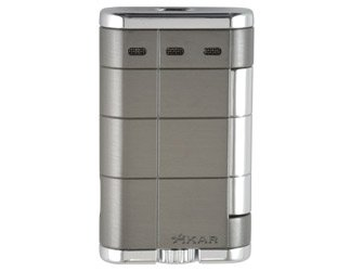Xikar XTX Single Flame Lighters Gunmetal 531
