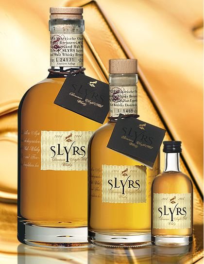 Slyrs Bavarian Single Malt Whisky  Whisky (2009er Jahrgang) 0,35l