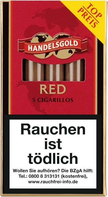 Handelsgold Zigarillos Sweets RED (Cherry) No. 213