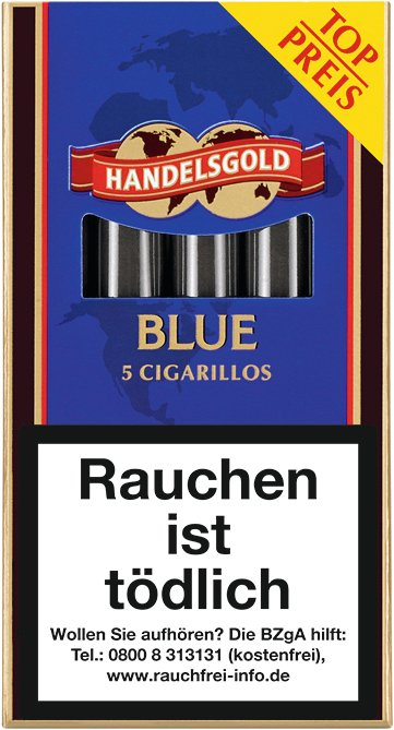 Handelsgold Zigarillos Sweets BLUE (Chocolate) No. 207