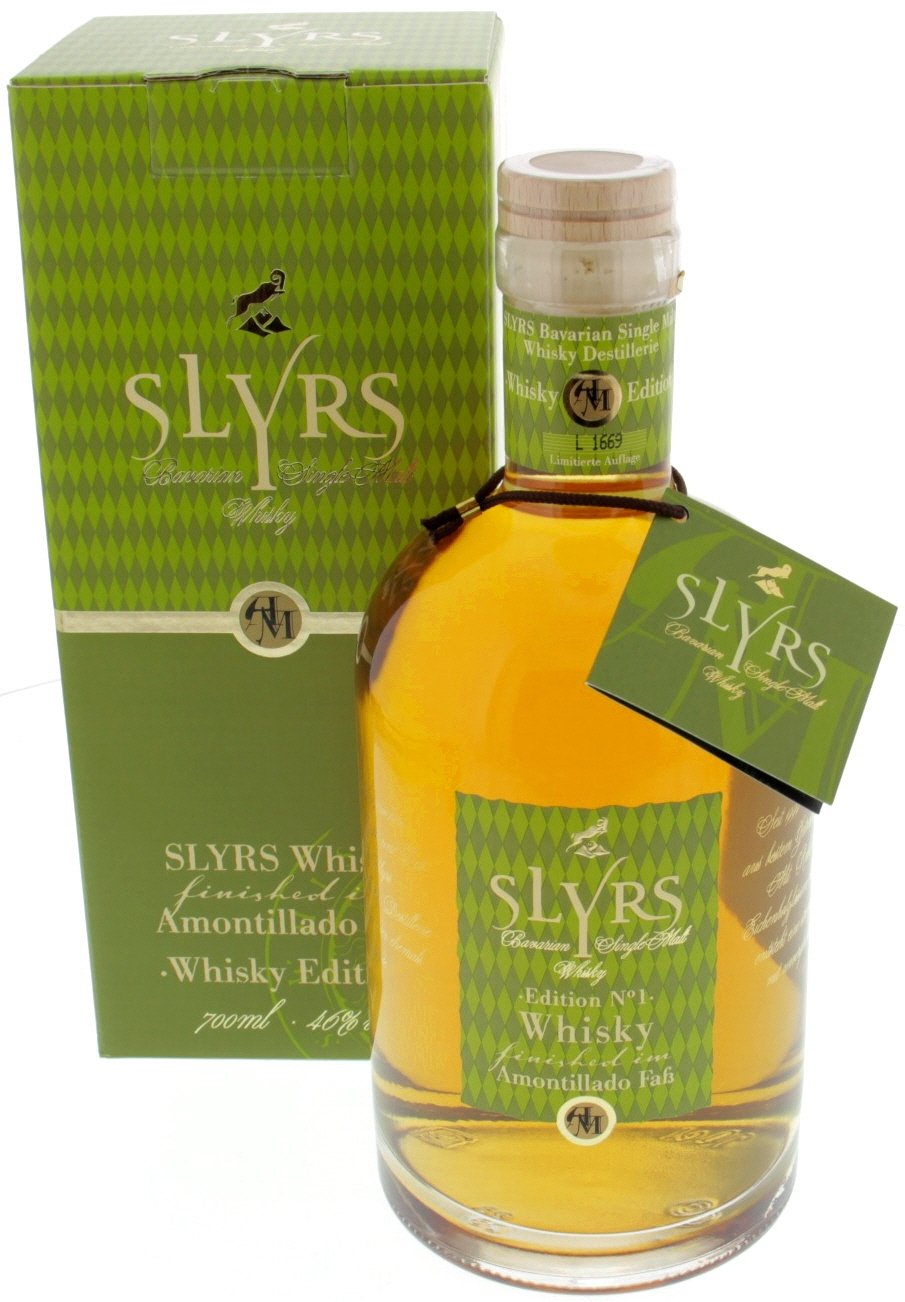 Slyrs Bavarian Single Malt Whisky Amontillado - 0,7 Ltr. mit Verpackung