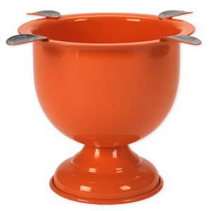 Tuttofumo Stinky Ashtray Color Stinky Tall Orange - mit 4 Ablagen  (CA-ST-4OR)