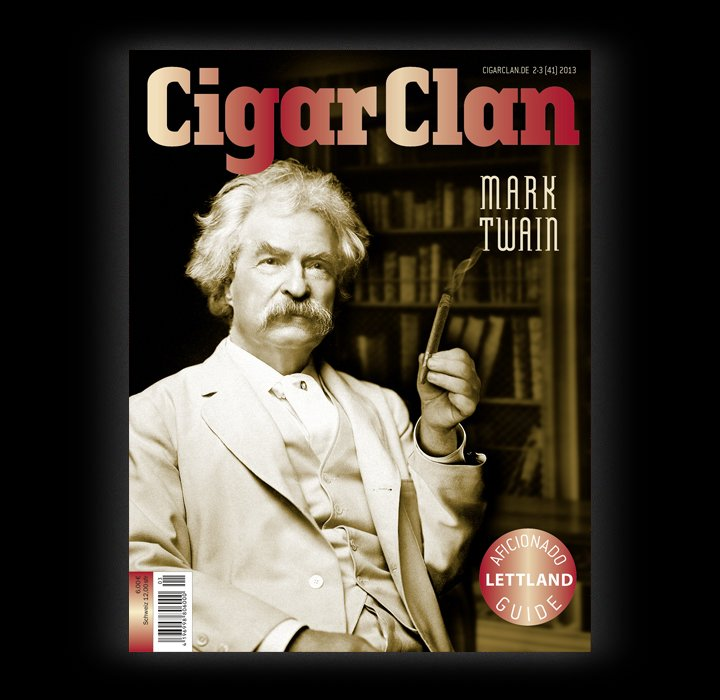 Cigar Clan Ausgabe 2-3/2013 (Mark Twain)