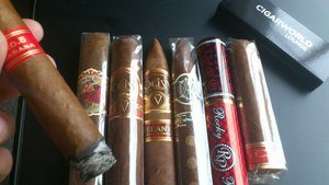 CIGARWORLD Sampler Cigarworld Best of 2012 Sampler (7 Zigarren)