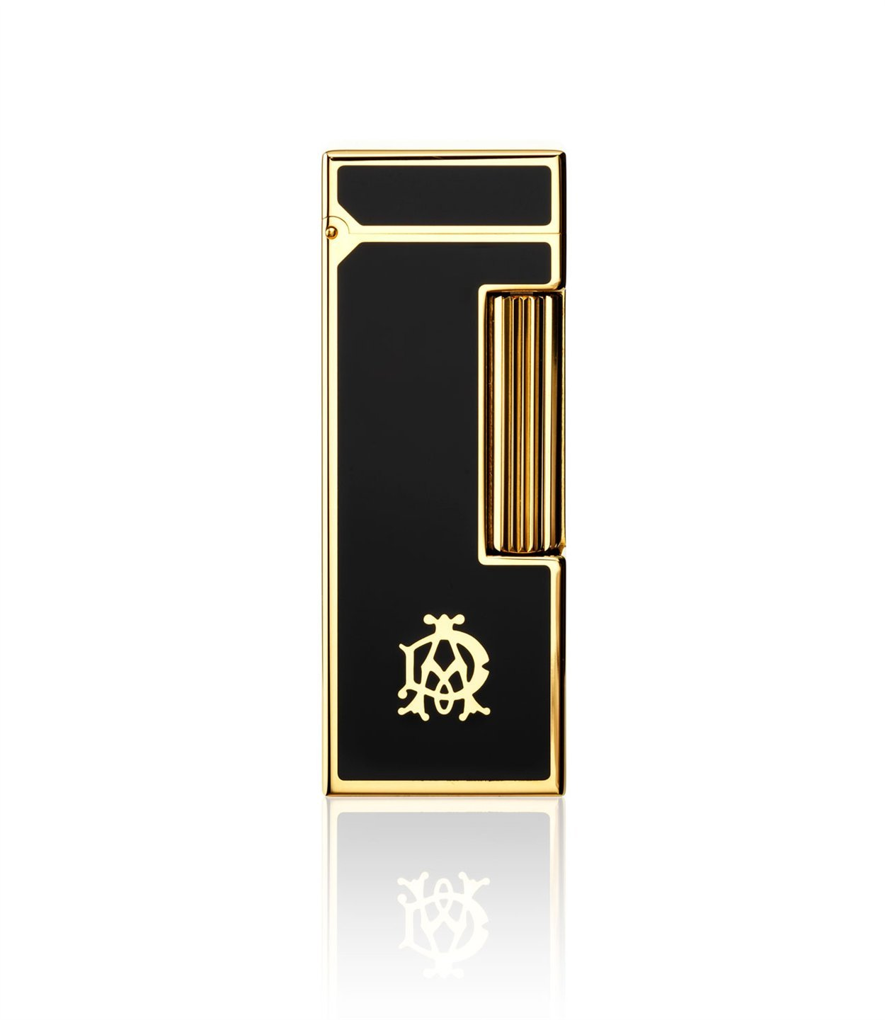 Dunhill Rollagas Black Laque Panels Gold (60-2401)