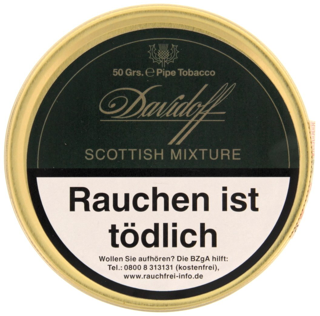 Davidoff Pfeifentabak Scottish Mixture 50g Dose