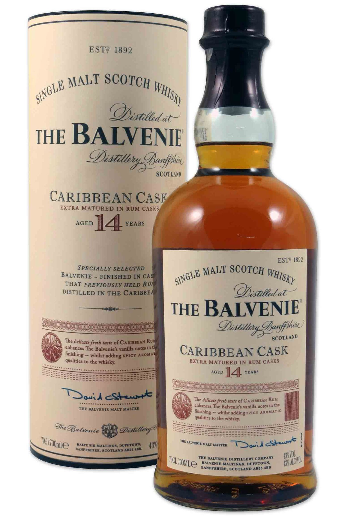 The Balvenie Caribbean Cask 14 Years - 70cl (83320) Detailbild