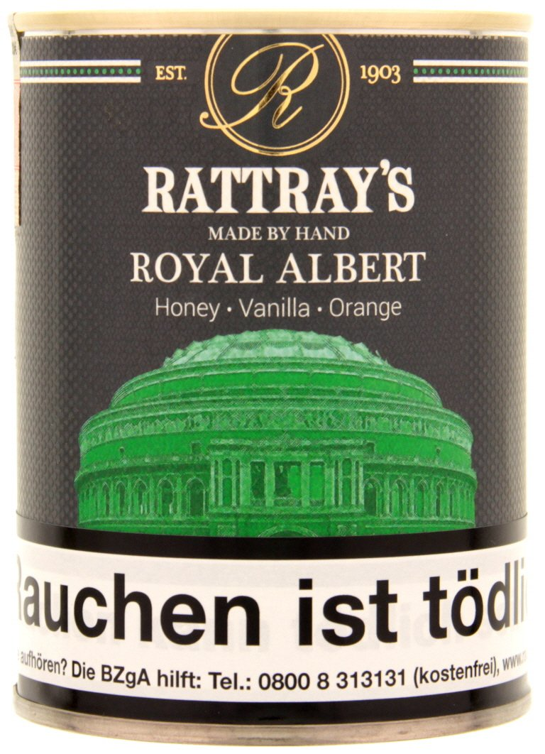 Rattray's Aromatic Line Royal Albert 100g Dose