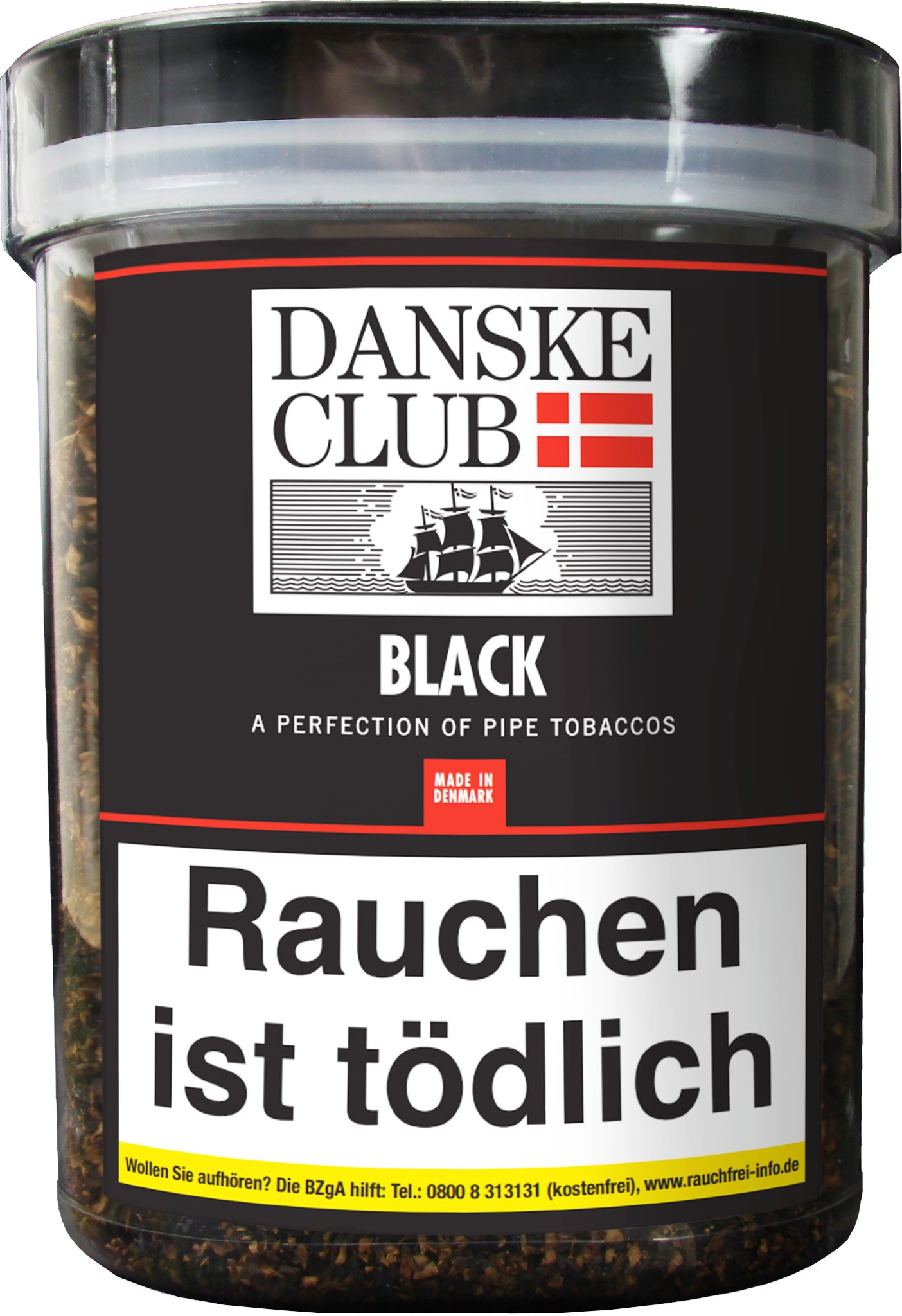 Danske Club Pfeifentabak Black (ehemals Black Luxury) 500g Kunststoffbox