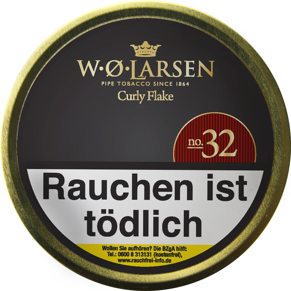 W.O. Larsen Selected Blend No.32 Curly Flake - 50g Dose