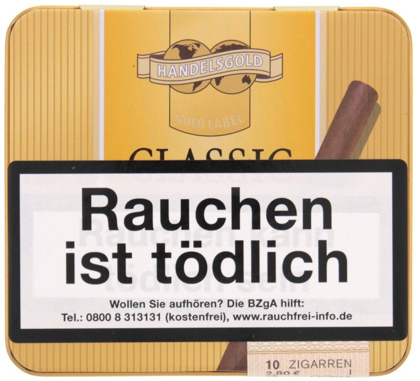 Handelsgold Gold Label Classic Cigarillos No. 361 - 10er