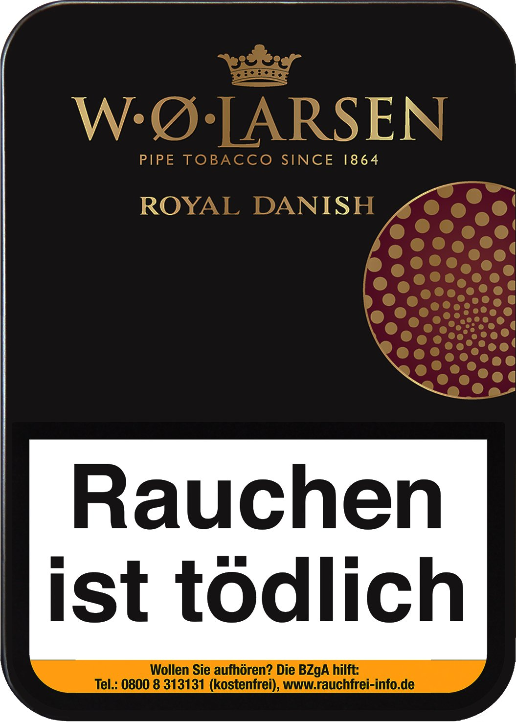 W.O. Larsen Royal Danish 100g Dose