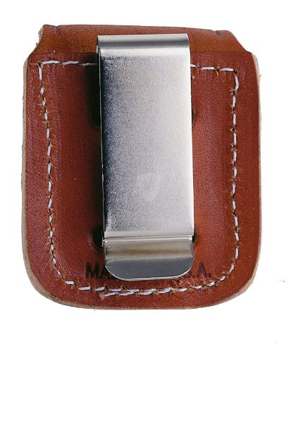 Zippo Accessories Zippo pouch brown with clip