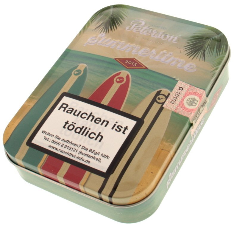 Peterson Limited Editions Summertime 2015 100g Schmuckdose