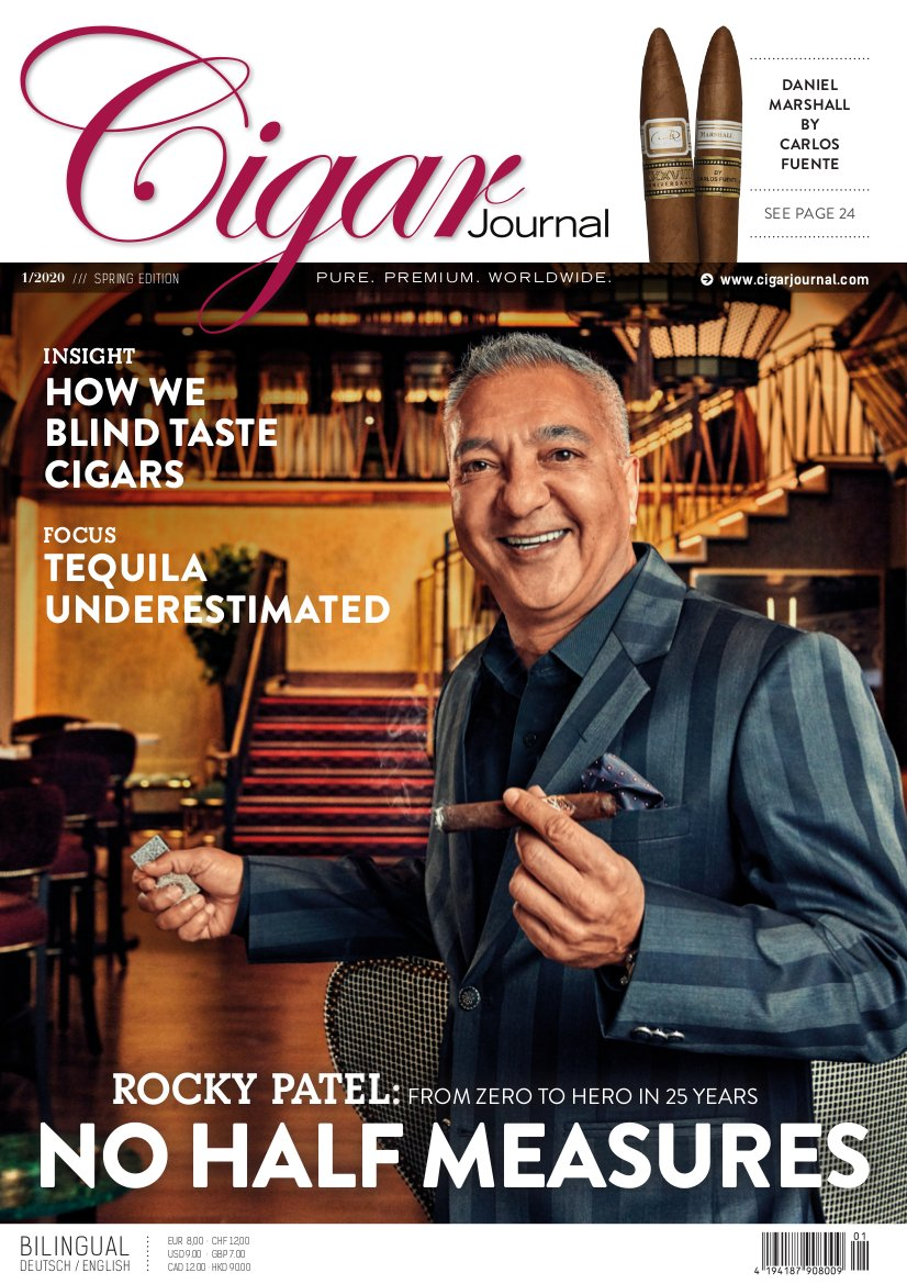 Cigar Journal Ausgabe 01/2020 (Rocky Patel)