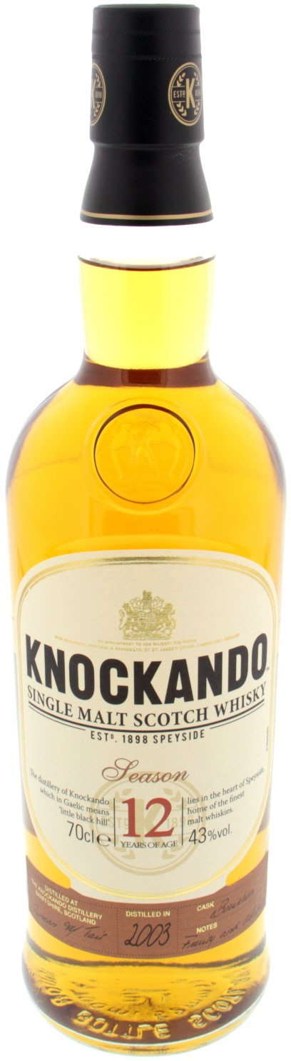 Knockando Single Malt Whisky 12 Years - 70cl (1798)