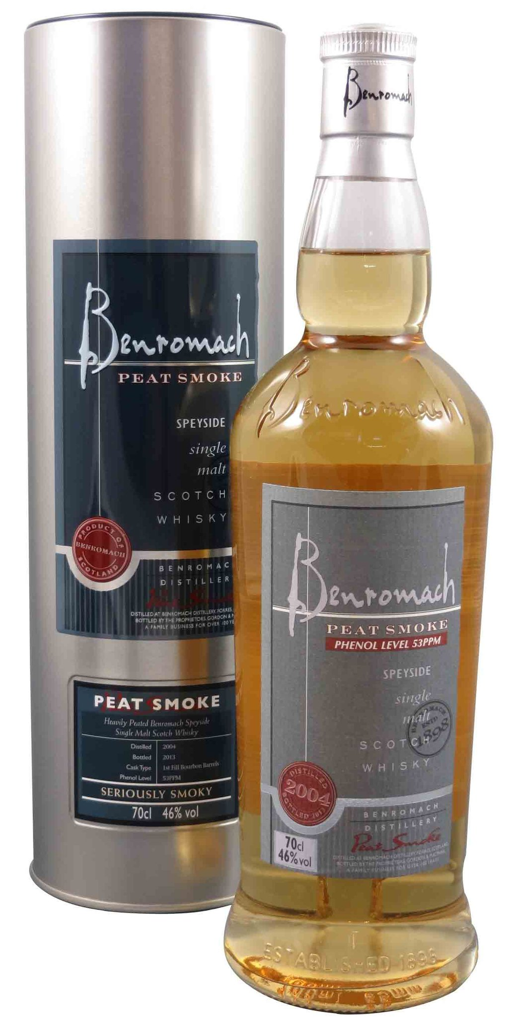 Benromach Peated o.A. - 70cl (4718)