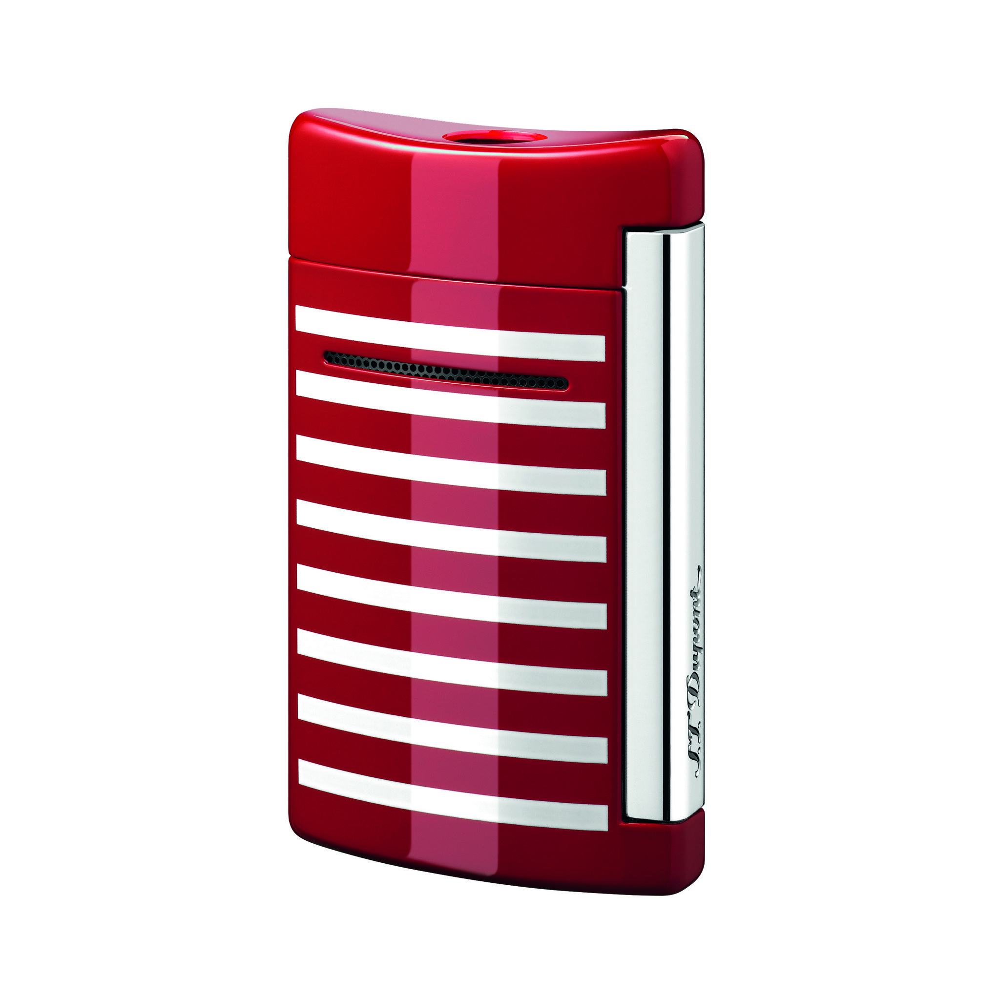 S.T. Dupont Minijet red white stripes (010107)