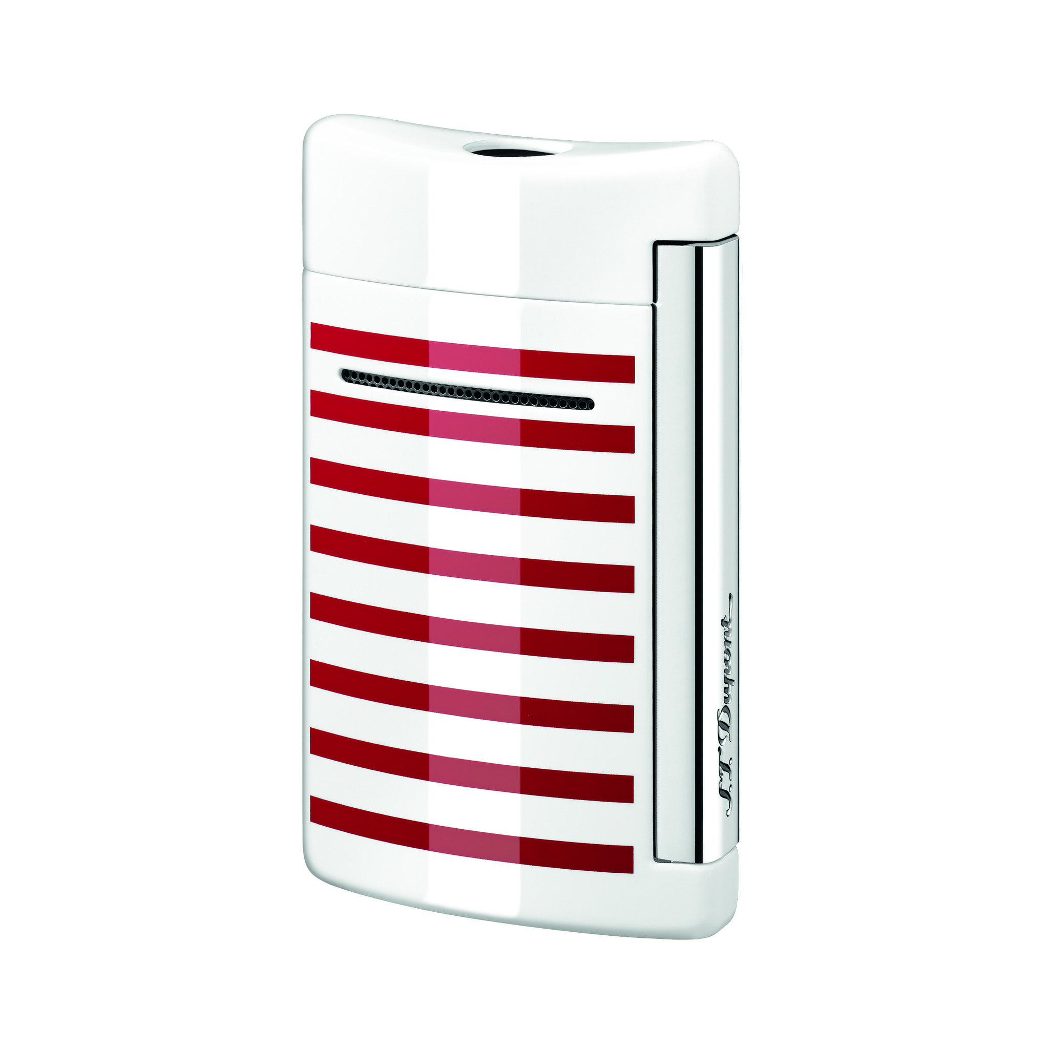 S.T. Dupont Minijet white red stripes (010108)