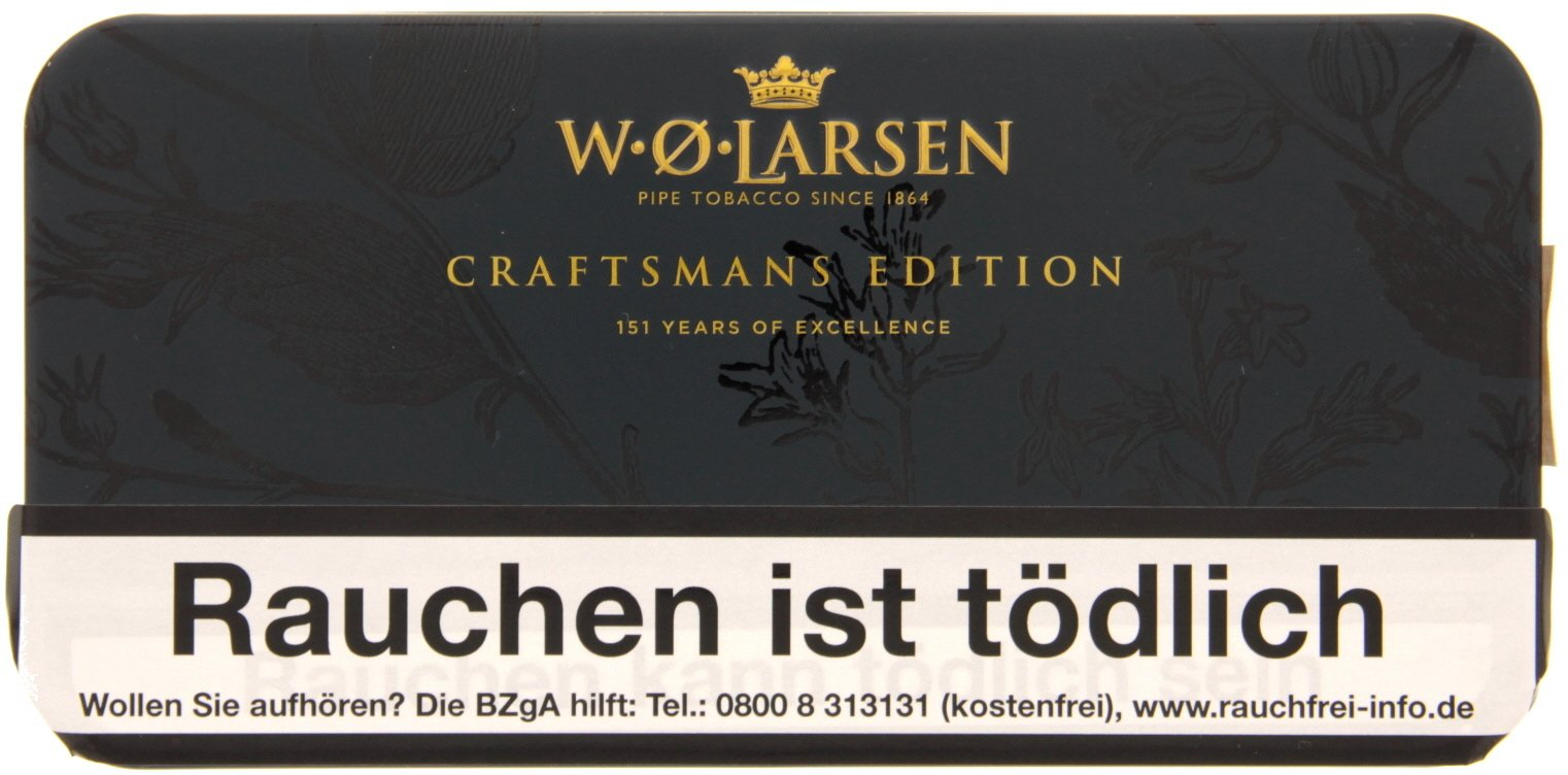 W.O. Larsen Jahrestabak Craftsmans Edition 151 Years of Excellence - 100g Dose