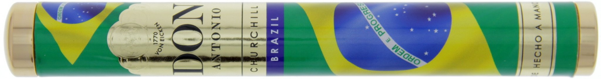 Don Antonio Churchill Tubes Colours (WM-Flaggen 2014) Brazil
