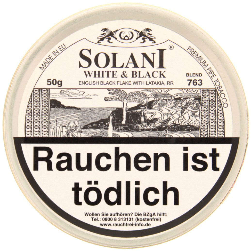 Solani Collection White & Black - 763 (50g)
