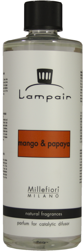 Millefiori Lampair Design Lampendüfte Mango and Papaya 500ml