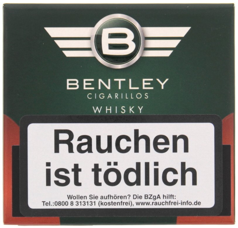 bentley zigarillos cigarillos whisky (20er packung) | cigarworld.de