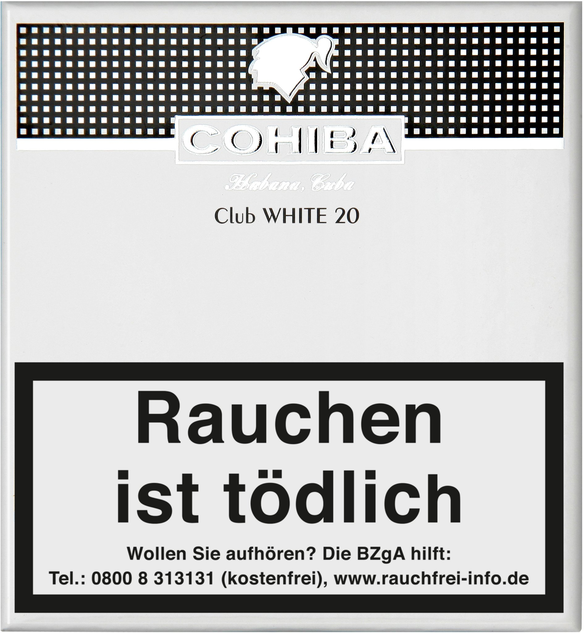 Cohiba Cigarillos Club WHITE Front