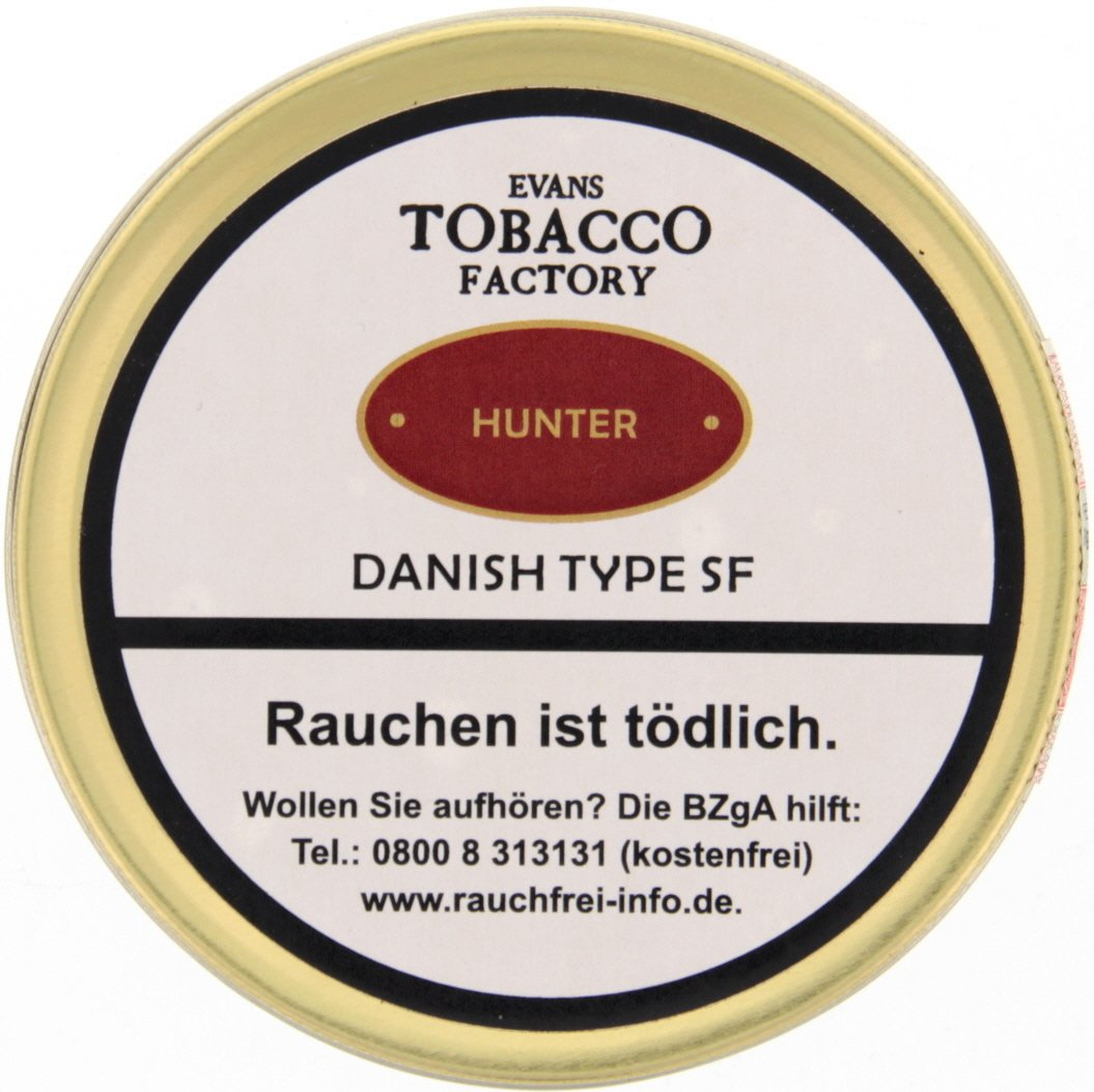 Tobacco Factory Danish Blend Hunter (ehemals Hunter´s Pleasure) 100g (74561)
