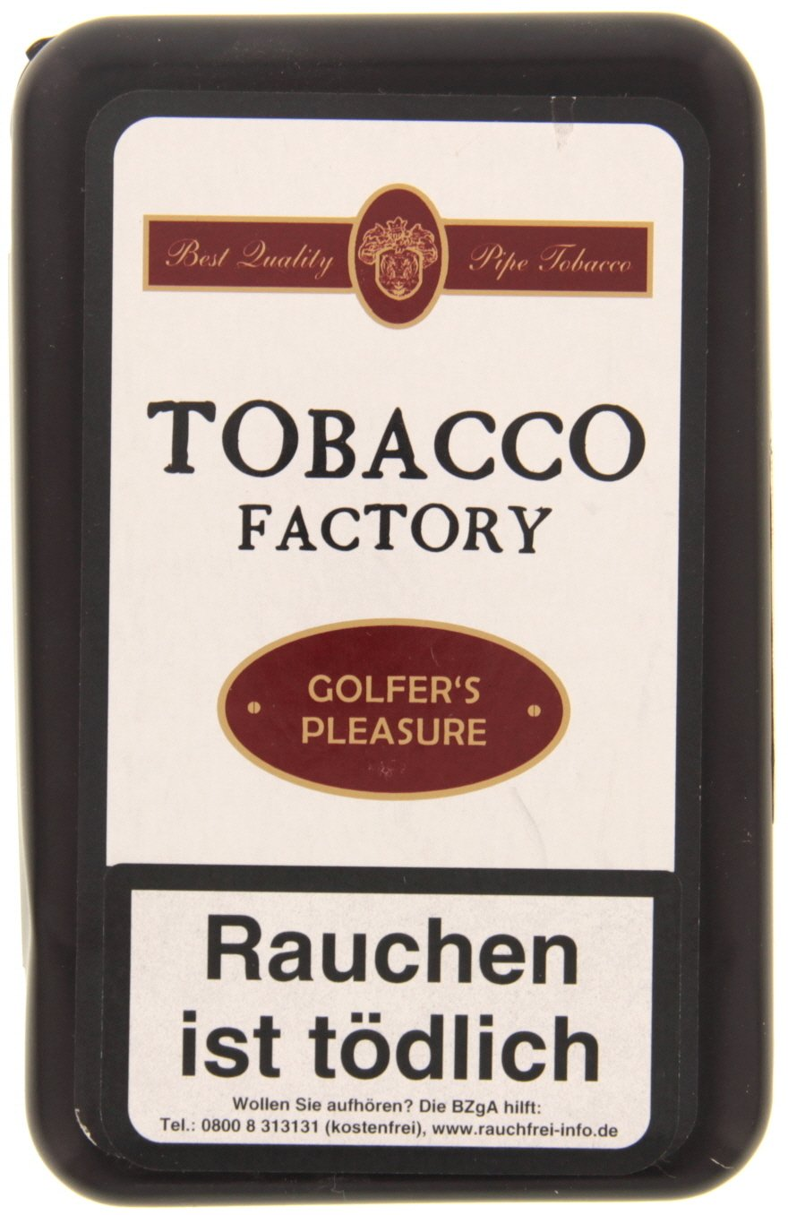 Tobacco Factory Danish Blend Golfer´s Pleasure 125g (74571)