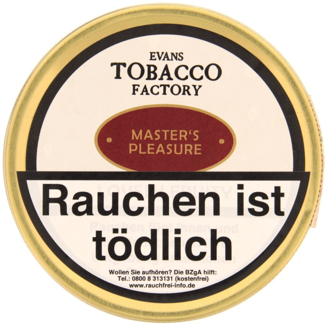 Tobacco Factory Danish Blend Master´s Pleasure 100g (74621)