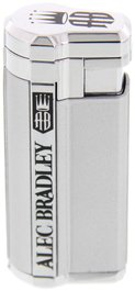 Alec Bradley Accessories Lighter Triple-Flame silber