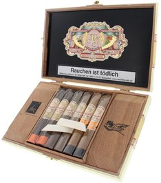 Don Pepin My Father Sampler Belicoso Collection offen