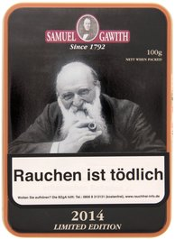 Samuel Gawith Limited Edition Limited Edition 2014 100g Schmuckdose