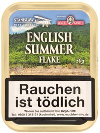Samuel Gawith Limited Edition English Summer Flake Limited 50g Schmuckdose
