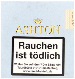 Ashton Small Cigars Connecticut Cigarillos Connecticut 10er Packung