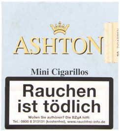 Ashton Small Cigars Connecticut Mini Cigarillos Connecticut 20er Packung